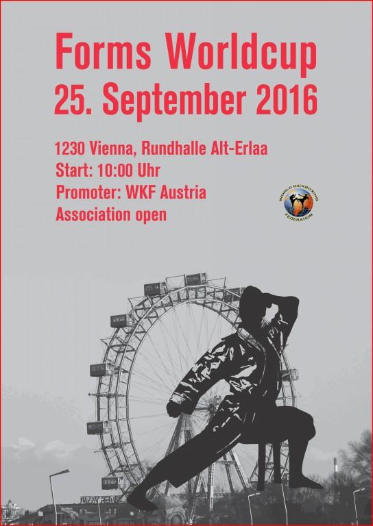 2016.09.25 Worldcup Forms, Vienna, Austria